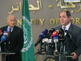 """صورة بوقدوم : """"نريد جامعة عربية تُحترم من الجميع ونتكئ عليها عند الحاجة"""""""