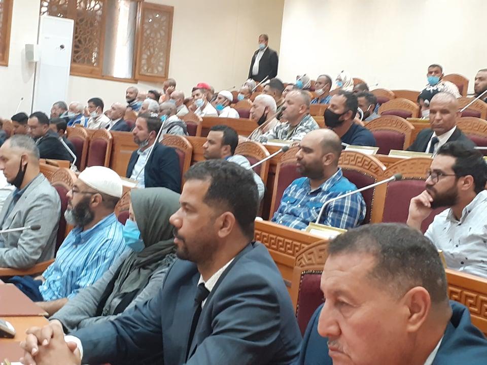 صورة لقاء السيد والي الولاية بالمجتمع المدني
