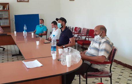 المجتمع المدني المهيكل ببلدية مهدية يطلق مبادرة تضامنية