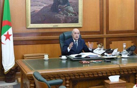 الرئيس تبون يوجه الوزير الأول بدراسة التدابير اللازمة لقطع سلسلة العدوى